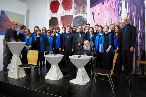 """Opening of the exhibition """"HERMANN NITSCH - RITUAL"""" 2"""