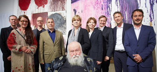 """Opening of the exhibition """"HERMANN NITSCH - RITUAL"""" 4"""