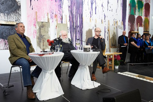 "Opening of the exhibition ""HERMANN NITSCH - RITUAL"" 6"