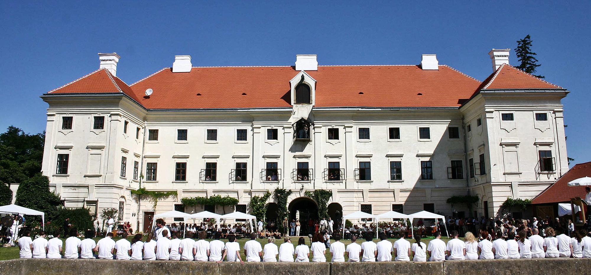 Castle Prinzendorf © Photography: Archiv Cibulka-Frey